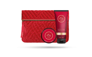 Red Queen Sophisticated fruity Lait Douche +crème illuminantes 003