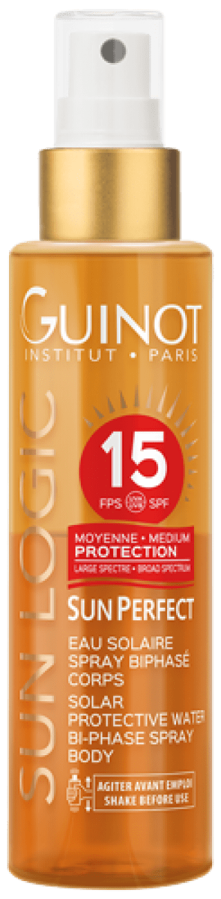 EAU SOLAIRE SPRAY BIPHASE CORPS 15 SPF