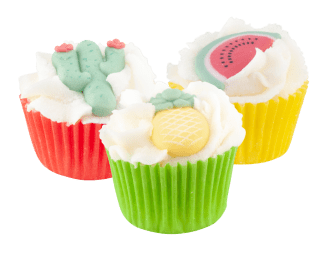 Mini cupcake Tropical Summer