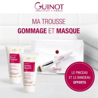 Trousse Gommage Eclat Parfait et Masque Hydra Beauté