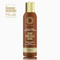 Spray Ensoleillée visage et corps hâle naturel progressif anti-age